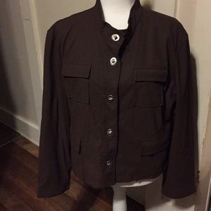 Weatherproof garmet Co brown jacket size XL